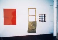 1er dépôt, Tir groupé, Lausanne - vue partielle d'exposition, 2001