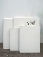 Soon - Dépôt 30 - Head, 2007 - Toiles et huile sur papier