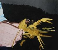 Picture n°2 (ici et ailleurs), 2008 - acrylique sur toile, 66 x 77 cm