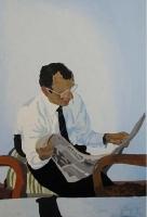 Picture n°3 (Crash), 2008 - acrylique sur toile, 119 x 78 cm