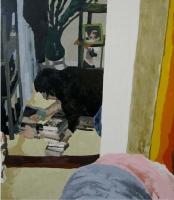 Picture n°8 (frame), 2008 - acrylique sur toile, 77 x 66 cm