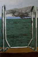 Picture n°6 (Presque rien), 2008 - acrylique sur toile, 119 x 78 cm
