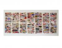 Surdépopulation, 2005 - Collages sur papier, 21 x 29,7