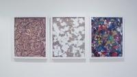 Des compositions n°2 -  châssis, toiles, acrylique, 2011
