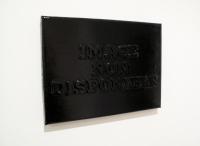 sans titre, 2011 - acrylique, bois et vernis sur toile