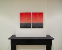 Différement identique, 2010 - acrylique et vernis sur toile