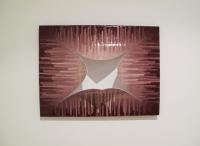Attraction, 2011 - acrylique et incisions sur toile
