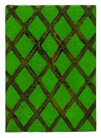 Grille, 2010 - Laques sur toile, 17,5 x 12,5