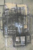 Réminiscence - Peinture aléatoire sur toile