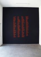Antithèse - peinture murale, 2012