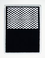 Densité, sérigraphie sur aluminium - 60 x 85 cm, 2013