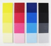 PCT 3, huile sur toile - 4x 96 x 24 cm, 2012