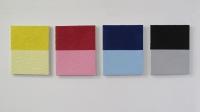 PCT 6, huile sur toile - 4x 24 x 30 cm, 2012
