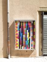 sans titre - 152 x 106 cm, 2014 - impréssion numérique sur adhésif
