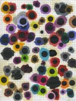Syncope -  huile sur papier, 2014