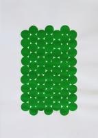 AI (Matta Slätvävd), 2015 - acrylique sur papier, 42 x 29,7 cm