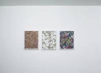 Des compositions - 2011- 50 x 40 cm - bois, toiles, acrylique, cadres