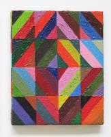 Rétroaction n°0, huile sur toile  - 36 x 29,5 cm, 2011