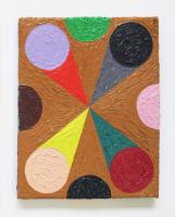 Rétroaction n°10, huile sur toile  - 30 x 24 cm, 2012