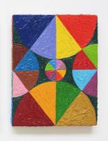 Rétroaction n°15, huile sur toile  - 25 x 20 cm, 2012