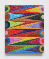 Rétroaction n°16, huile sur toile  - 30 x 24 cm, 2012