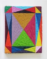 Rétroaction n°18, huile sur toile  - 24 x 20 cm, 2012
