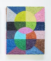 Rétroaction n°19, huile sur toile  - 35 x 30,5 cm, 2012