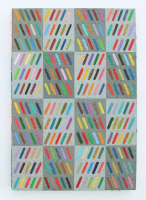 Rétroaction n°40, huile sur toile  - 58 x 40 cm, 2013