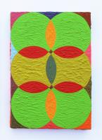 Rétroaction n°42, huile sur toile  - 30 x 25 cm, 2013