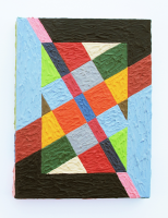 Rétroaction n°43, huile sur toile  - 14,5 x 18,5 cm, 2013