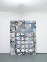 365 jours , 215 x 150 cm, 2013 - peinture aléatoire et autogénérée
