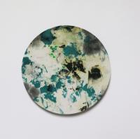 Ressource disponible, 2014-2018 - Peinture aléatoire, ø 21,5 cm