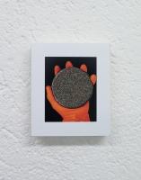 Gift, 2016 - Poussière d'acrylique sur photo