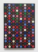 Réalité augmentée n°19, 2017 - acrylique sur toile, 30x21 cm