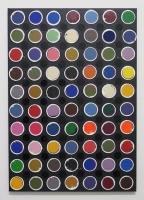 Réalité augmentée n°23, 2018 - acrylique sur toile, 100x70 cm