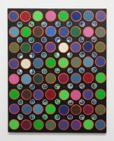 Réalité augmentée n°24, 2018 - acrylique sur toile, 92x73 cm