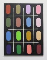 Réalité augmentée n°25, 2018 - acrylique sur toile, 80x60 cm