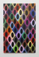 Réalité augmentée n°26, 2018 - acrylique sur toile, 111,5x73 cm