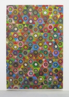 Réalité augmentée n°4, 2012 - acrylique sur toile, 190x130 cm