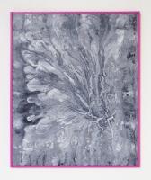sédiments actifs, 2016 - acrylique sur toile, 58 x 48,5 cm