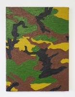 Guerilla post cubisme n°2, 2017 - huile sur toile, 40 x 30 cm