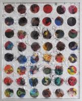 Exit, 2011 - huile et chrome/toile, 51,8x41,8 cm