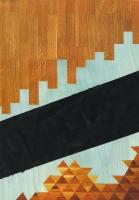 Convention, 2012 - acryl/papier imprimé, 29,5 x 20 cm