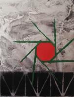 Pensée pour Naoto Matsumura, 2013 - acrylique spray sur papier
