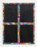 Exhaustif et indéfini, 2014 -  huile sur toile, 90 x 70 cm