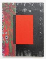 prémice post-numérique, 2014-18 - acryl et huile / toile, 40 x 30 cm