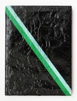 Incompatible, 2015 - acrylique sur toile, 21,5 x 15,5 cm