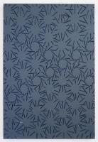 Nature et artifice, 2015 - glue  - acrylique sur toile, 70 x 50 cm