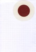 New Fukushima, 2015 -  huile sur papier, 29 x 20 cm