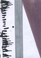 Original fail statment, 2015 - huile sur papier, 29,7 x 21 cm
